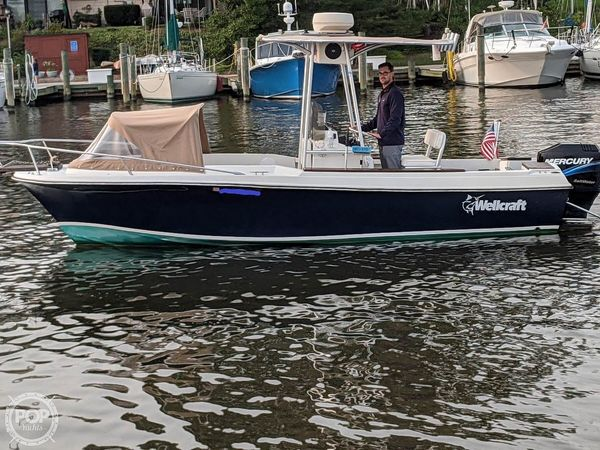Used Wellcraft V20 Open Center Console Fishing Boat For Sale