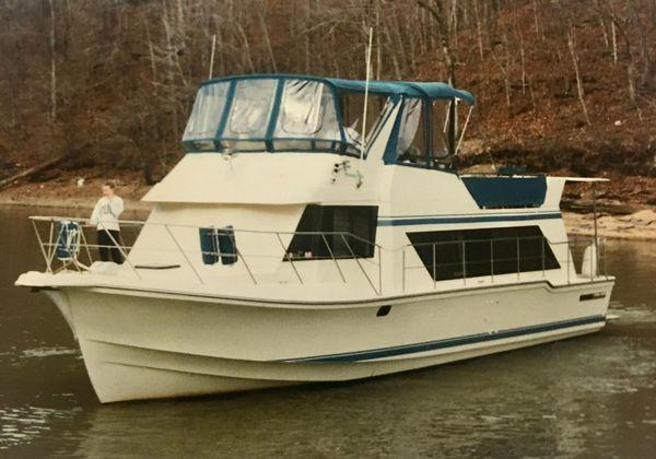Used Harbor Master 450 Coastal Cruiser House Boat For Sale