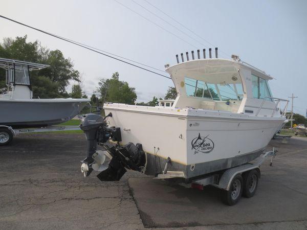Used Baha Cruisers 232 Gle Power Cruiser Boat For Sale
