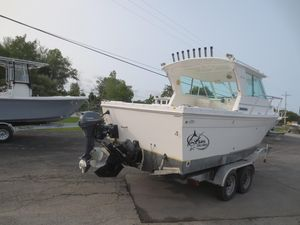 Used Baha Cruisers 232 Gle Power Cruiser Boat For Sale
