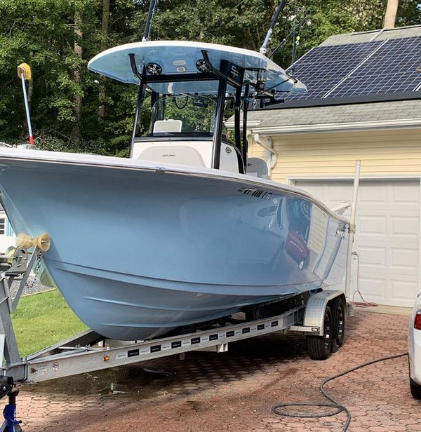 Used Sea Pro 239 Center Console Fishing Boat For Sale
