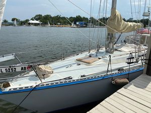 Used Wauquiez 38 MKI Ted Hood Racer and Cruiser Sailboat For Sale