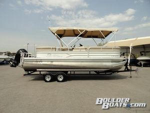 Used Sun Tracker Party Barge 22 XP3 Pontoon Boat For Sale