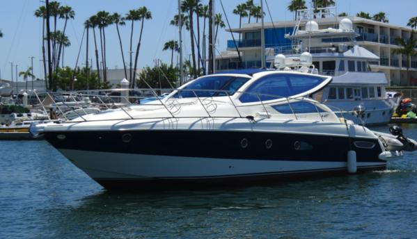 Used Cranchi Mediterranee 43 HT Cruiser Boat For Sale