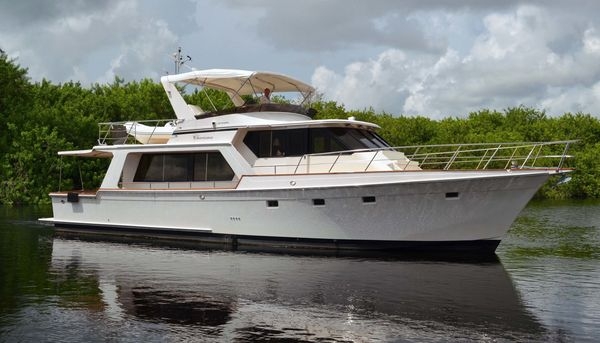 Used Offshore Yachts Pilothouse Motor Yacht Pilothouse Boat For Sale
