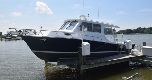 Used Mabry Custom 32 Downeast Fishing Boat For Sale