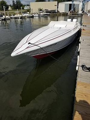 Used Fountain 33 ICBM Executioner High Performance Boat For Sale