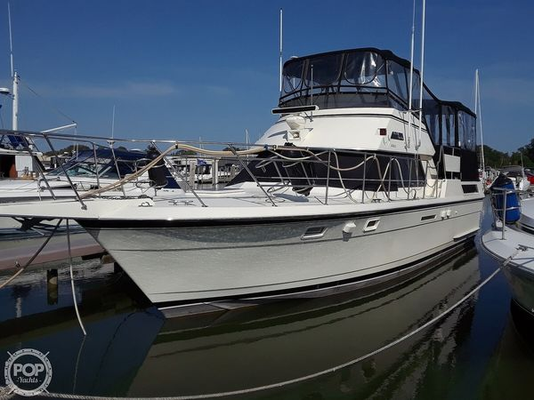 Used Hatteras 40 Dual Cabin Motor Yacht Aft Cabin Boat For Sale