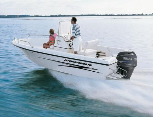 Used Hydra-Sports Lightning 180 CC Saltwater Fishing Boat For Sale