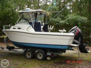 Used Stratos 2160 WA Walkaround Fishing Boat For Sale