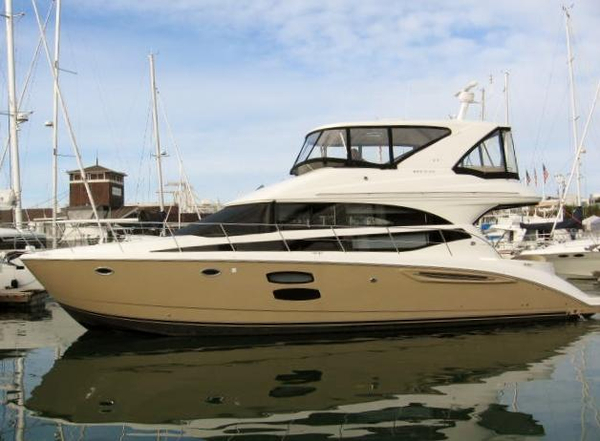 New Meridian 441 Sedan Bridge Motor Yacht For Sale