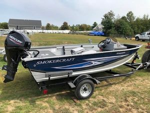 New Smoker Craft 151 Resorter Ski and Fish Boat For Sale