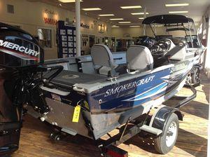 New Smoker Craft 151 Resorter Ski and Fish Boat For Sale