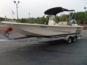 Used Carolina Skiff DLV Series 238 Saltwater Fishing Boat For Sale