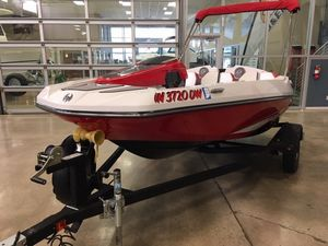 Used Scarab 165 Runabout Boat For Sale