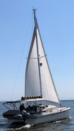 Used Island Packet Cat Hard Top Catamaran Sailboat For Sale