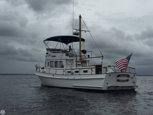 Used Morse 40 Trawler Boat For Sale