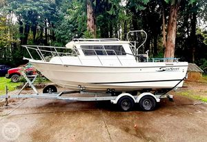 Used Sea Sport 2200 Charter Series Walkaround Fishing Boat For Sale