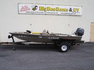 Used Lowe 160 Stinger Bass Boat For Sale