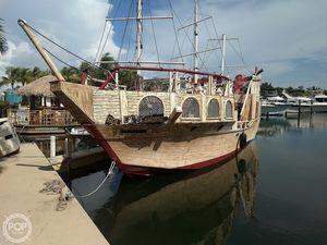 Used Homebuilt 35 Pirate Ship Passenger Boat For Sale