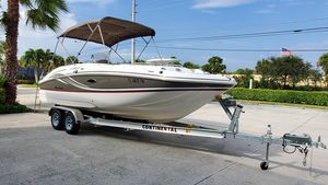 Used Hurricane SS 220 OB Deck Boat For Sale