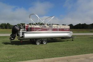 Used Lowe 230 Pontoon Boat For Sale