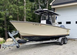 Used Sea Craft 23 Potter Built Center Console Fishing Boat For Sale