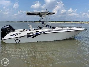 Used Fountain 25 Center Console Fishing Boat For Sale