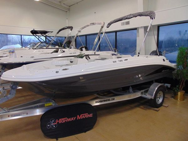 New Hurricane SunDeck Sport 185 OB Pontoon Boat For Sale