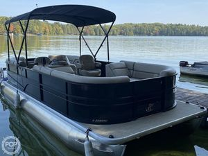 Used Misty Harbor A-2285RU Pontoon Boat For Sale