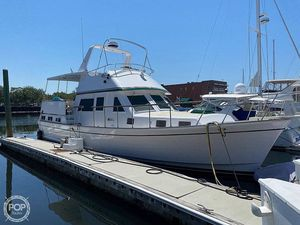 Used Marine Trader Labelle 43 Motor Yacht Trawler Boat For Sale