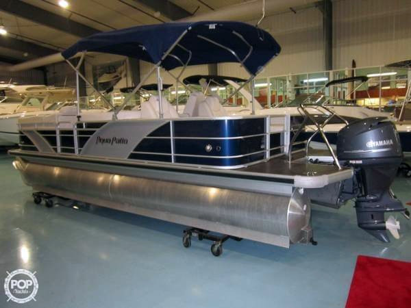 Used Aqua Patio 240 SL Pontoon Boat For Sale