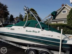 Used Four Winns 210 Fun Ship Deck Boat For Sale