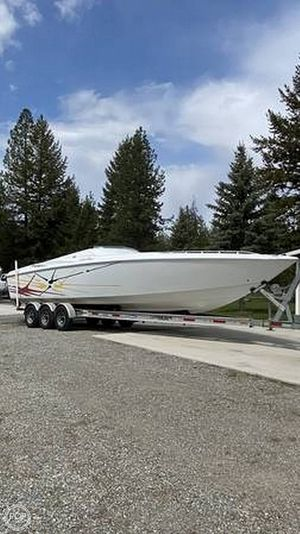 Used Baja Outlaw 33 High Performance Boat For Sale