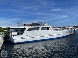 Used De Birs Yachts 75 Trawler Boat For Sale