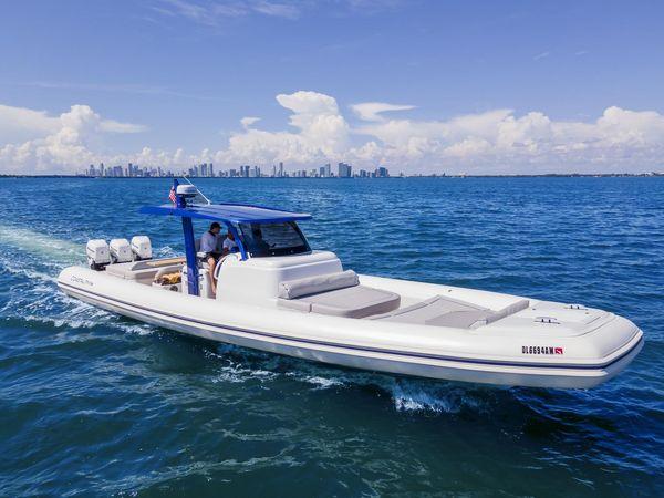 Used Coastal 46 Rigid Sports Inflatable Boat For Sale