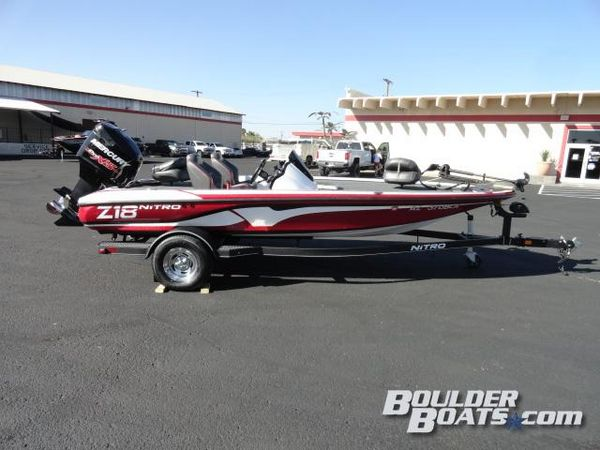 Used Nitro Z18 SC Freshwater Fishing Boat For Sale