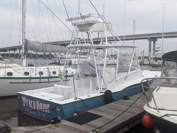 Used Shearline 31 Center Console Sportfish Express Sports Fishing Boat For Sale