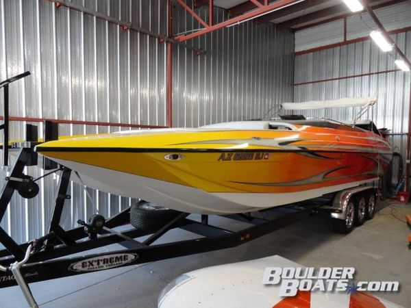 Used Advantage 28 Sport Cat Bowrider High Performance Boat For Sale
