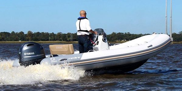 Used Zodiac Medline 500 Rigid Sports Inflatable Boat For Sale