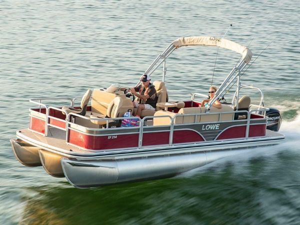 New Lowe SF214 V Pontoon Boat For Sale