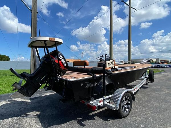 Used Maverick Master Angler Flats Fishing Boat For Sale
