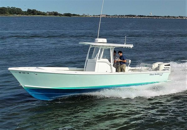 Used Albury Brothers 27 Center Console Center Console Fishing Boat For Sale