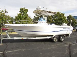 Used Pro Line 23 Sport Center Console Fishing Boat For Sale