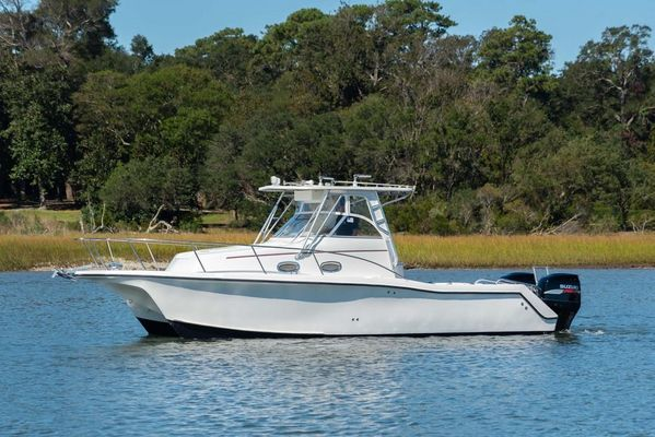 Used Pro Sports Prokat 2860 (Four Strokes!!) Walkaround Fishing Boat For Sale