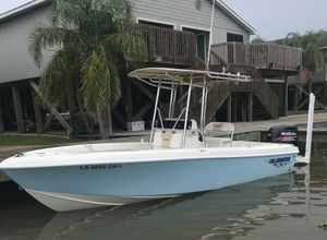 Used Bluewater 2150 Center Console Fishing Boat For Sale