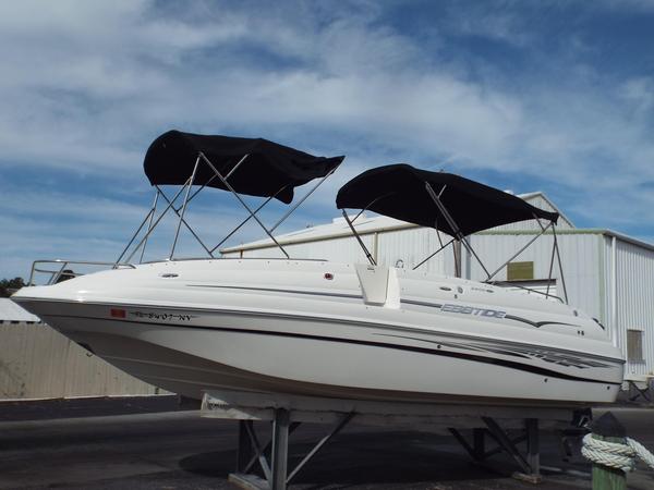 Used Ebbtide 2400 SS Fun Cruiser OB Bowrider Boat For Sale