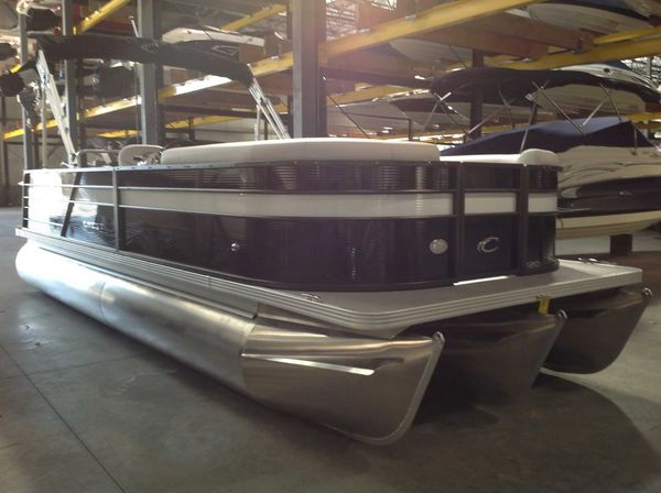 New Crest Cl Lx 220slsc Pontoon Boat For Sale