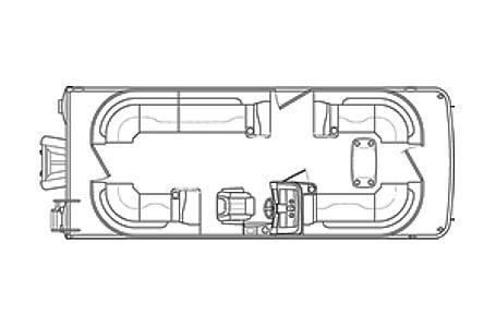 New Bennington 23 SSRCXP Pontoon Boat For Sale