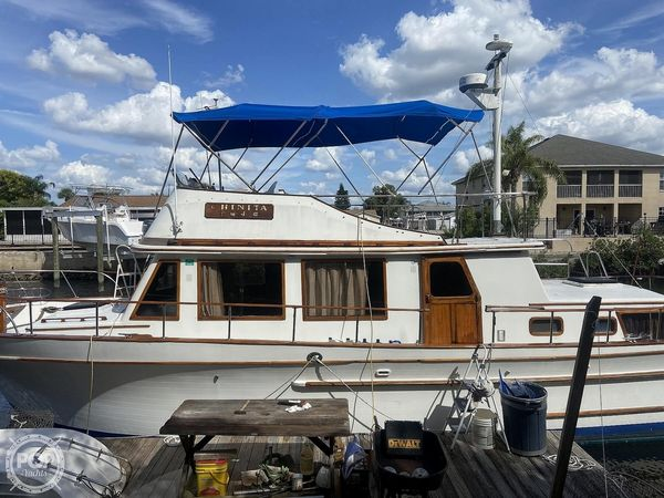 Used Chb 40 Trawler Boat For Sale